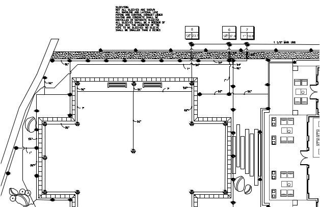 home irrigation design. Irrigation Design  Lewis Aq i Landscape Architectural LLC