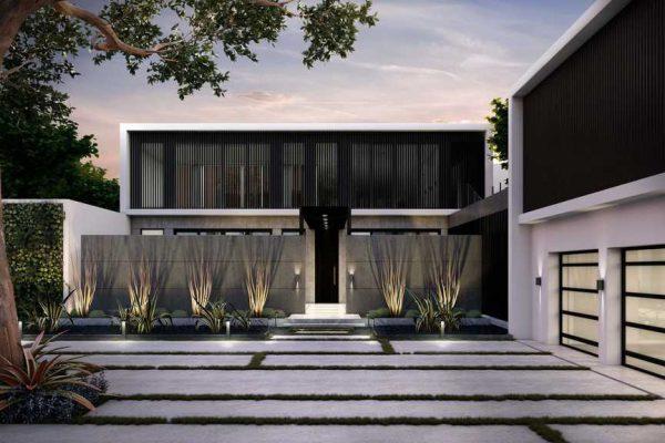 Miami Modern Facade